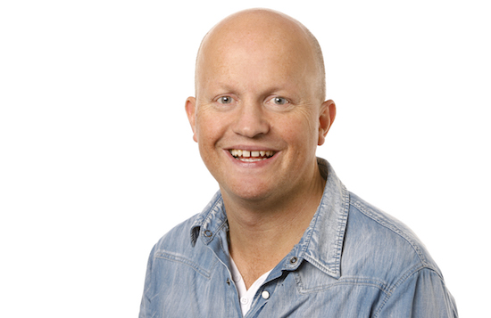 Harald Thingnes vann nynorskprisen for journalistar. Foto: Ole Kaland/NRK